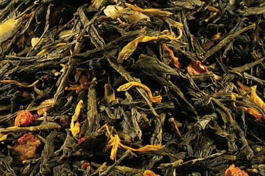 Biologische Groene thee banaan appel aardbei
