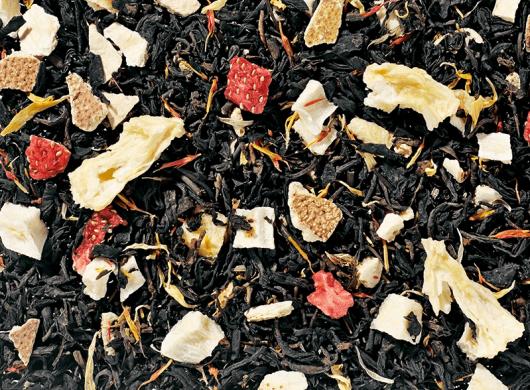 Biologische zwarte mango thee