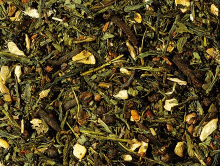 Groene thee Chai kruiden melange kardemom kaneel