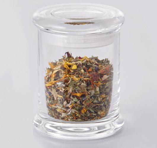 Glazen voorraadpot 160 ml